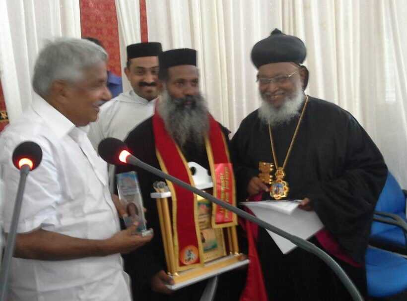 Rev. Fr. Jinesh Varkey Receives Order of St. George 2017