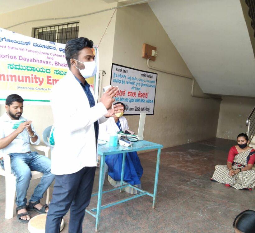 Community Empowerment program under Revised National Tuberculosis Control Program  at Guluru, Tumkur