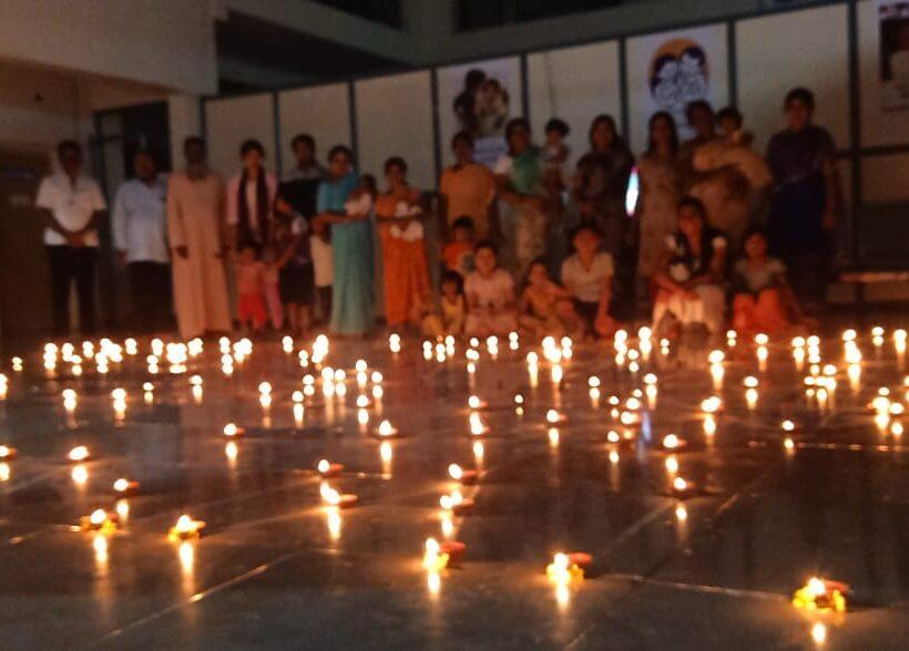 Dayabhavan celebrates Childrens Day and Deepavali