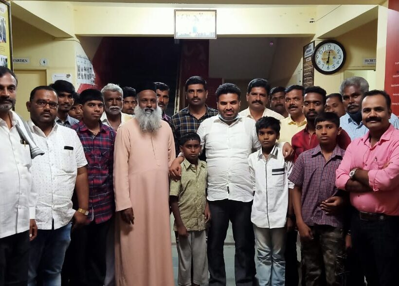 Christmas celebration at Dayabhavan with Hon. M L A Dr. Ranganath