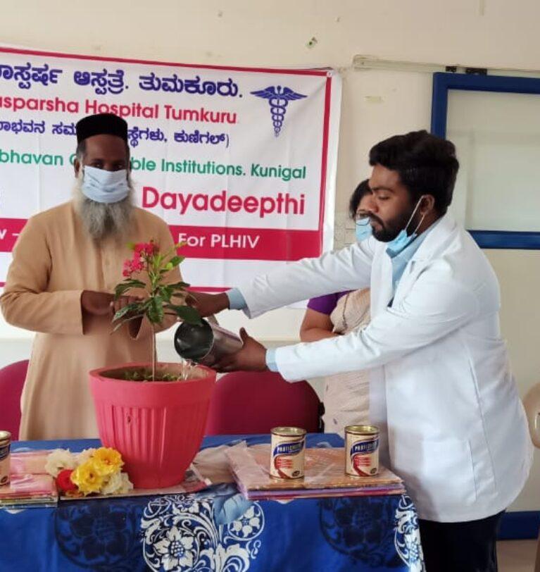 Dayadeepthi (follow up program for People living with HIV) at Dayasparsha